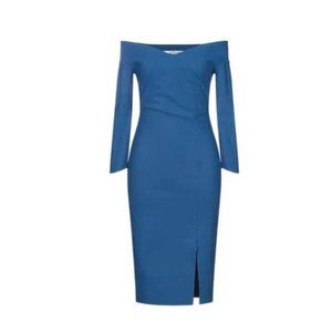Blue Chiara Boni la petite robe 42 / 6 short Dress
